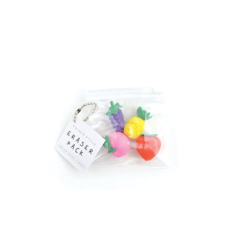 KAISERSTYLE ERASER PACK - FRUITY