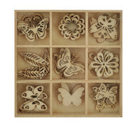 Wooden Shapes- Butterfly