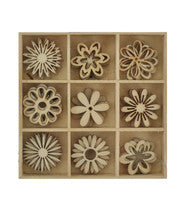 Wooden Shapes-Flower
