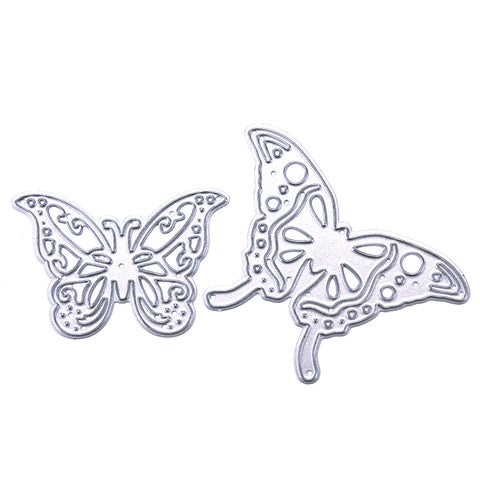 Set of two Butterfly Craft Dies