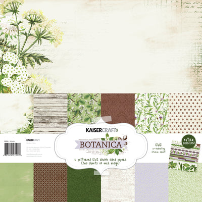 Botanica Paper Pack with Bonus Sticker Sheet