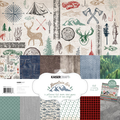 Mountain Air Paper Pack with Bonus Sticker Sheet