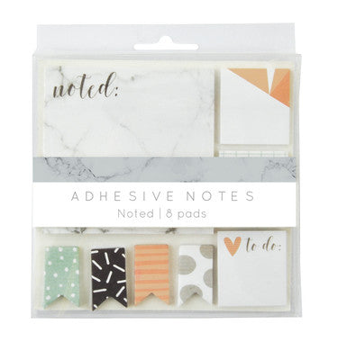 Adhesive Notes Noted