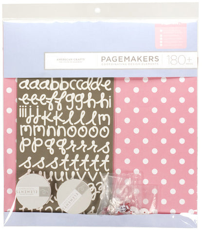 Baby Girl - Pagemakers - American Crafts