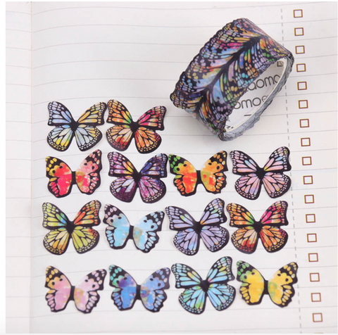 Washi Tape Butterfly Stickers