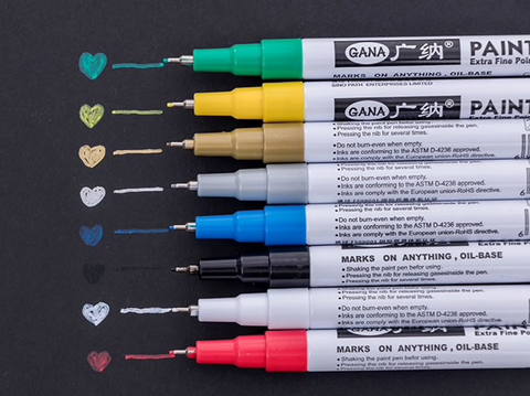 Extra Fine Point White Paint Pen - 0.7mm