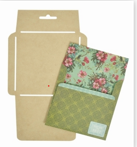 Kaisercraft Square Envelope Template
