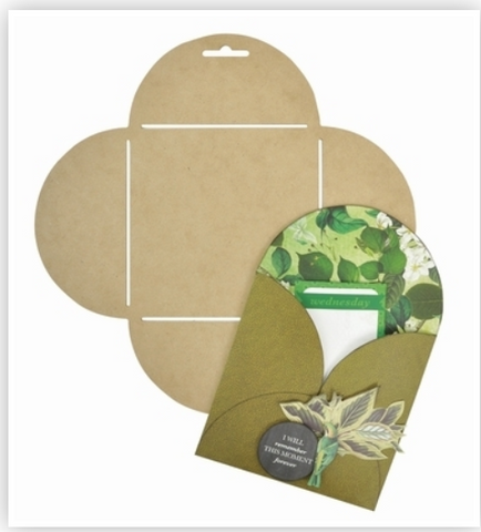 Kaisercraft Flower Envelope Template (Large Square)