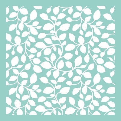 "Leaves 12 x 12"" Template"