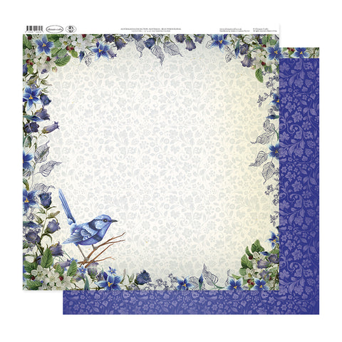 Australiana Collection: Australia - Blue Wren Floral - Ultimate Crafts
