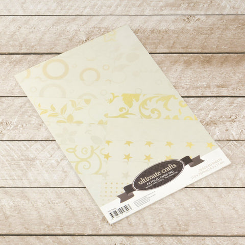 A4 Foiled Paper Pad