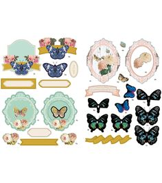 Fundamentals A4 Decoupage Pack - Butterflies