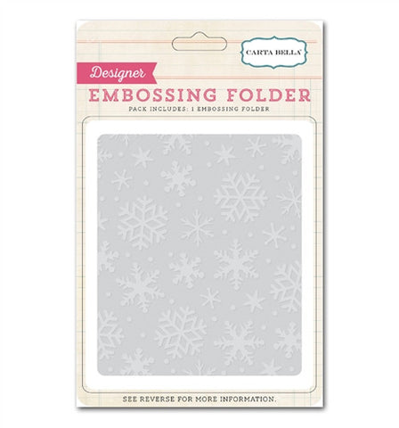 Snow Flurries Embossing folder
