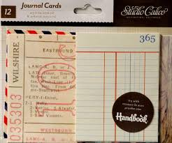 Studio Calico Journal Cards