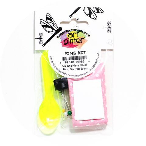 Art Glitter Pins Kit by Art Institute Glitter