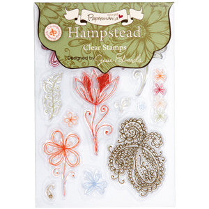 Papermania Hampstead Clear Stamps designed by Jesse Edwards