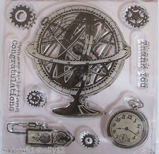 Chronology Clear Set Stamp