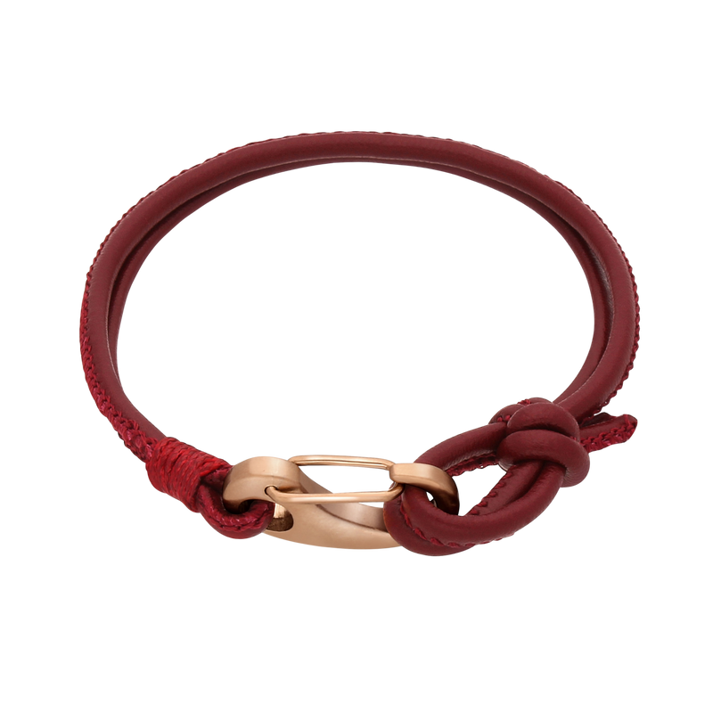 Ron Leather Bracelet