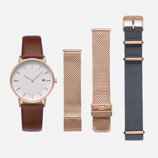The Everyday Watch II — Rose Gold