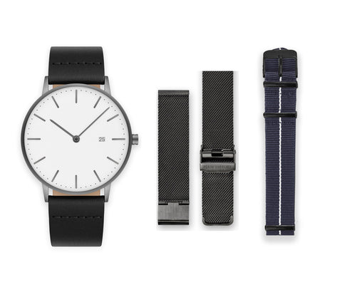 The Everyday Watch - MS19 Gunmetal