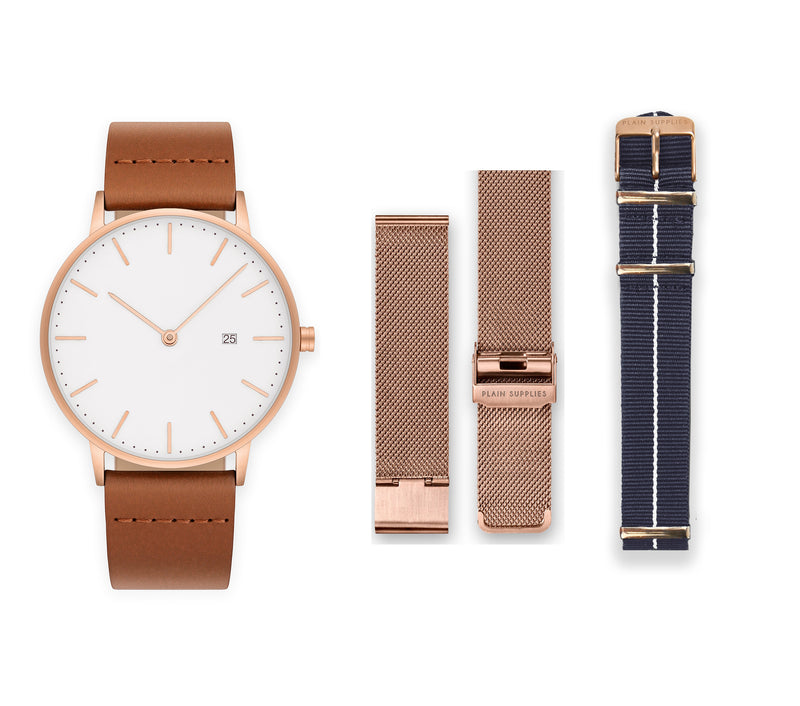 The Everyday Watch - MS16 Rose Gold
