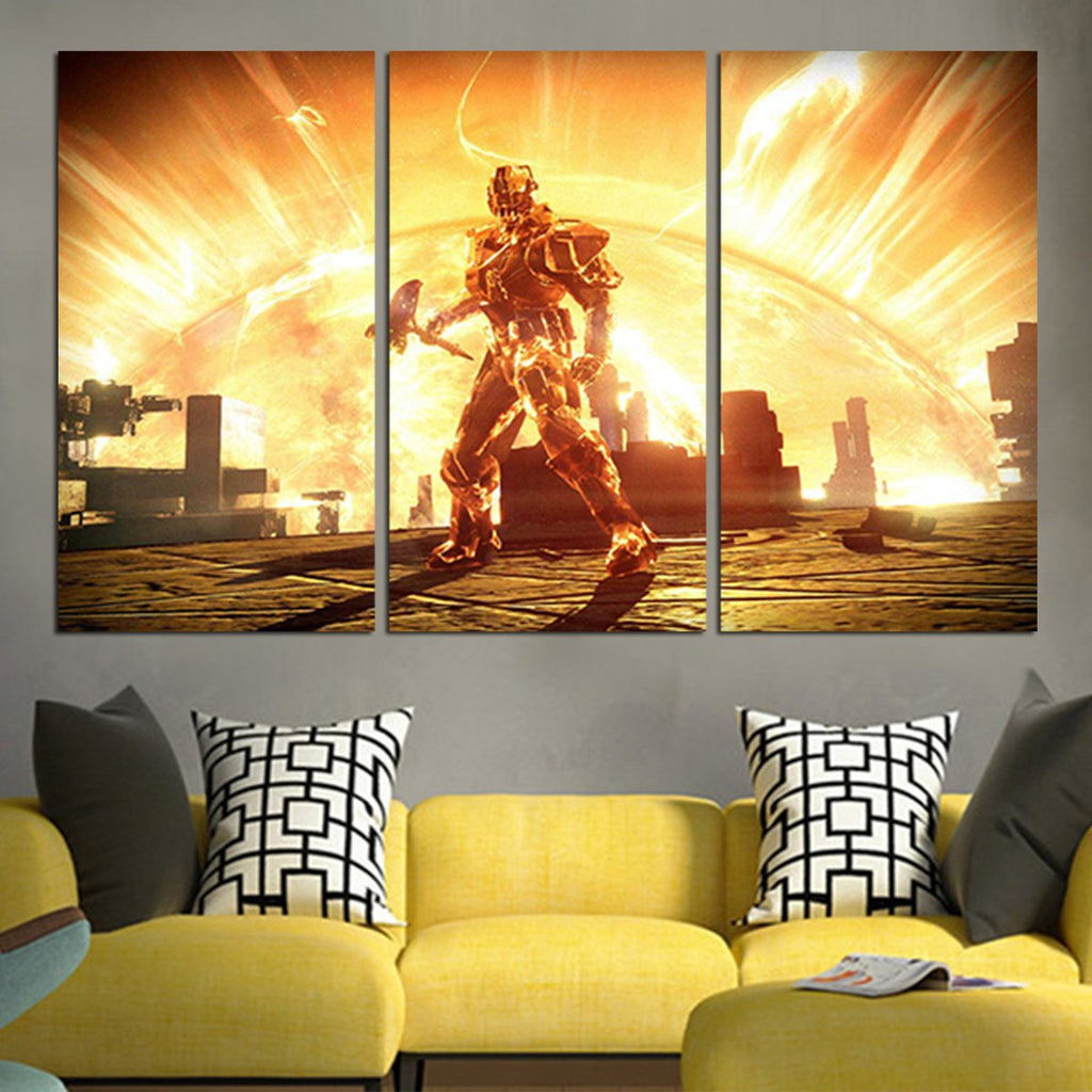 3 Panel The Taken King Wall Art Canvas – AIO Tee