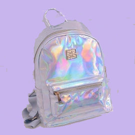 Hologram Laser Aesthetic Backpack