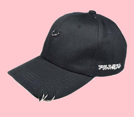Loop Piercing Aesthetic Baseball Cap