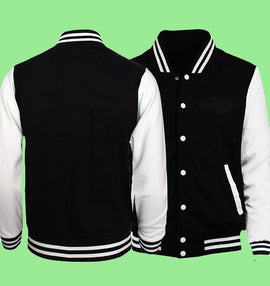 Casual Men's Aesthetic BTS Bomber Jacket