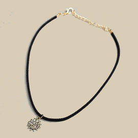 New Moon Stars Sun Aesthetic Choker