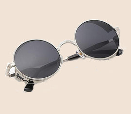 Ralferty Retro Steampunk Aesthetic Sunglasses
