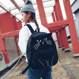Space Cat Shirts - Cat Pattern Aesthetic Backpack - aesthetic clothing