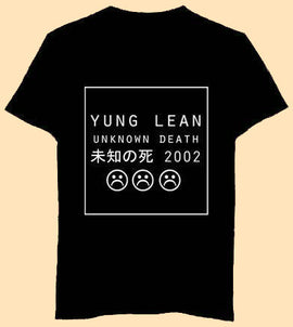 YUNG LEAN UNKNOWN DEATH Aesthetic T-Shirt