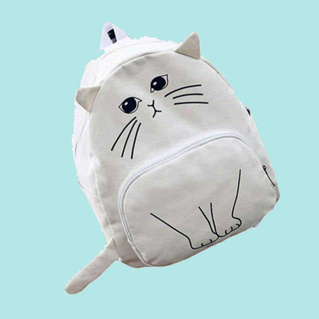 Aesthetic Clothing Super Kawaii Cute Lovely Cat Pattern Unisex