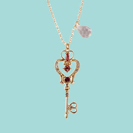 Space Cat Shirts - Sailor Moon Crystal Space Time Key Aesthetic Pendant - aesthetic clothing