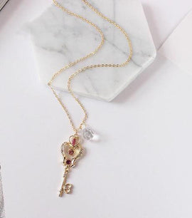 Sailor Moon Crystal Space Time Key Aesthetic Pendant