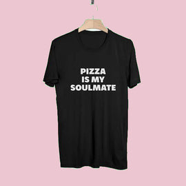 Pizza is My Soulmate Aesthetic T-Shirt