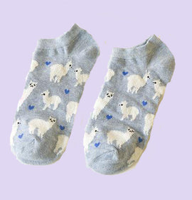 Alpaca Aesthetic Socks