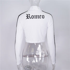 Space Cat Shirts - Romeo Letter aesthetic crop top - aesthetic clothing