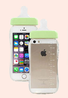 Baby Bottle Aesthetic Mobile Phone Case For iPhone