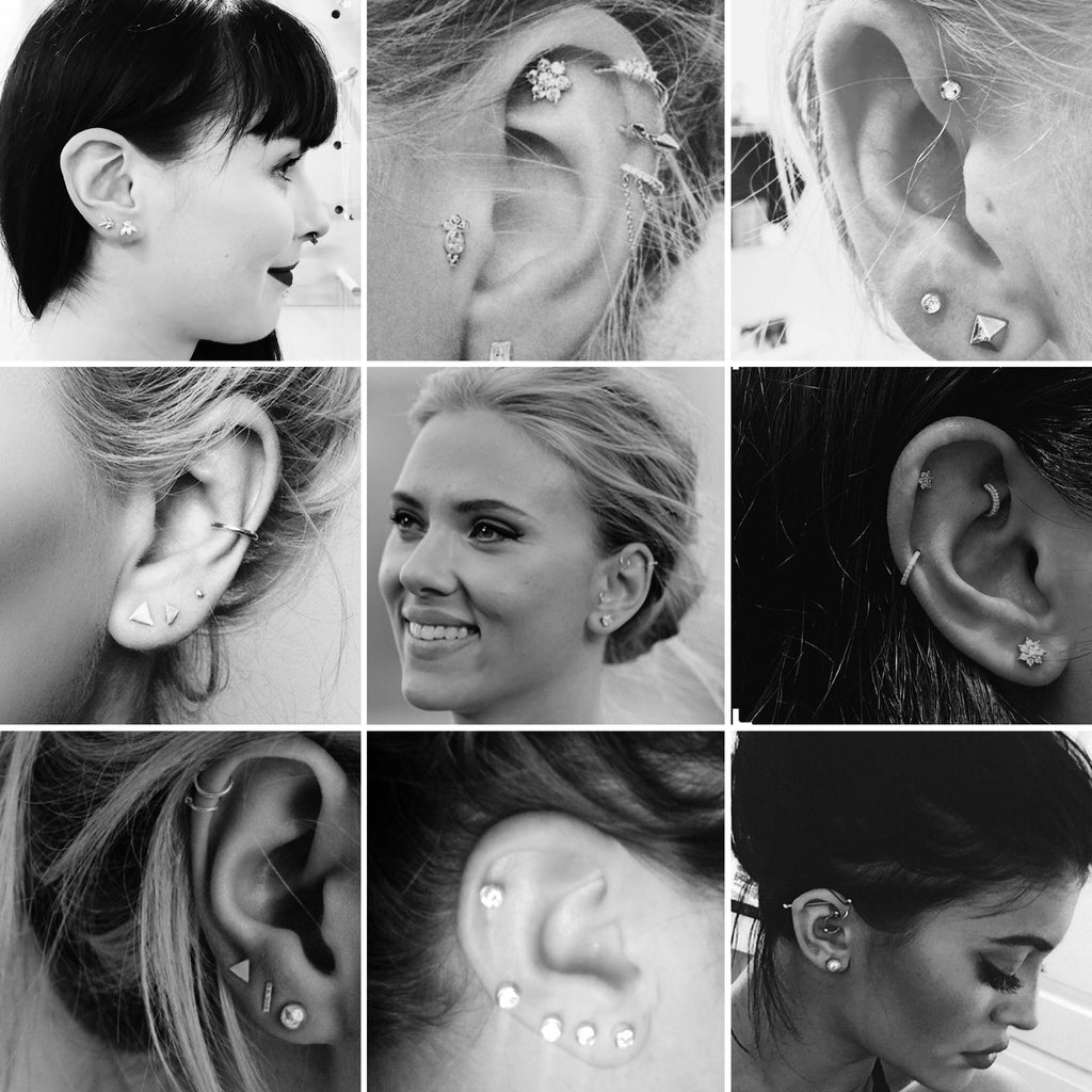 Gimme more! When it comes to ear piercings.