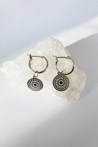 SILVER ADDIE EARRINGS
