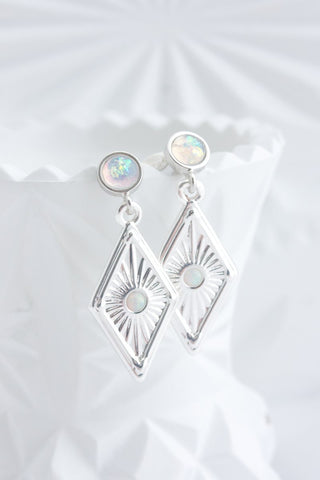 DAWN EARRINGS SILVER