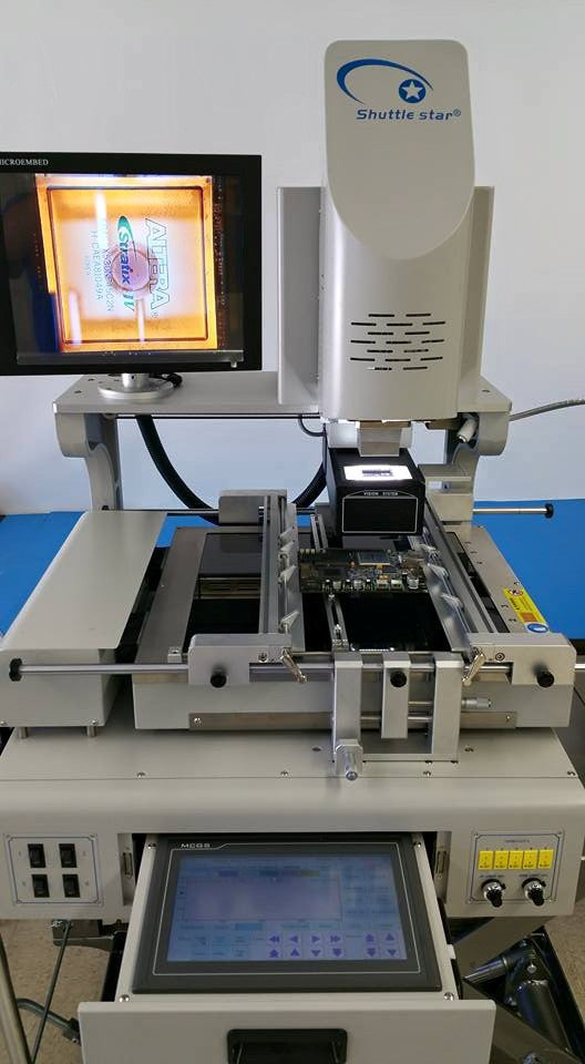 Sold! Shuttle Star SV560A BGA Rework Station