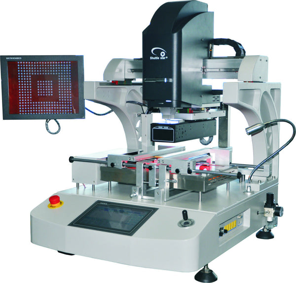 Nitrogen Capable SMD & BGA Rework Station Model E6250U