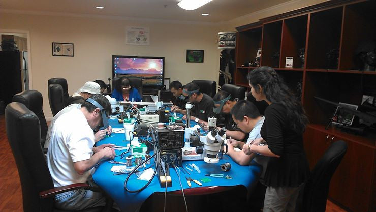 Hand Soldering Training Classes