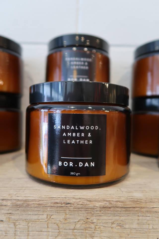 SANDALWOOD AMBER + LEATHER PRE ORDER FOR 21/10 ONLY