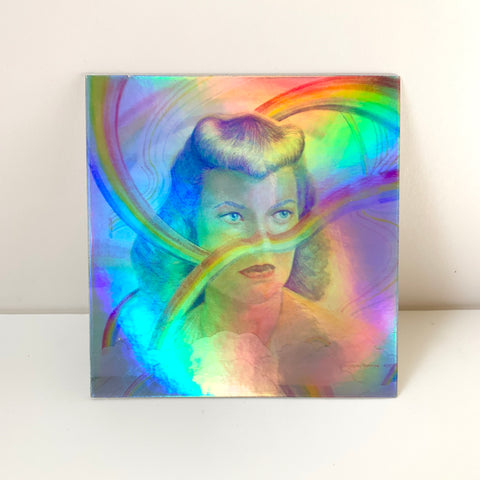 "Holographic Sticker - ""RAINBOW ANCESTOR"""