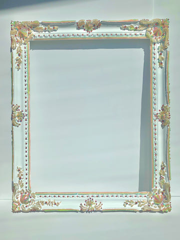 Rainbow Jelly Frame 16x20 ✨ Ornate Rococo Victorian Venetian Translucent ~ Vertical or Horizontal ~ Large