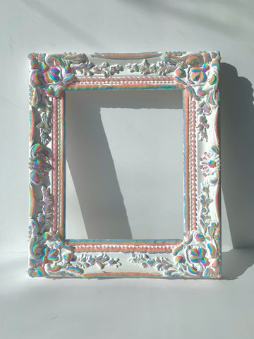 Rainbow Jelly Frame 8x10 ✨ Ornate Rococo Victorian Venetian  Translucent ~ Vertical or Horizontal